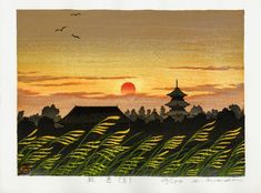 Hirokazu Fukuda – Woodblock Artist SYU SYOKU