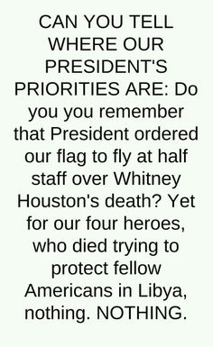 I loved Whitney, but our heroes who sacrificed deserve better than what they got!