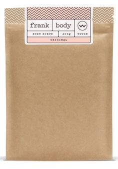 Frank - Original Coffee Scrub   My original coffee scrub is packed with sweet almond oil, orange essence, vitamins and minerals to target dry skin, stretch marks, cellulite, eczema, psoriasis, varicose veins, acne and scarring.  200g of tough love   $14.95  Free Shipping in USA