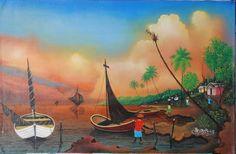 Buy Art | Haitian Art | Frame Art Miami