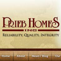Prieb Homes | Home Builder Websites | Home Builder Web Design | Builder Designs
