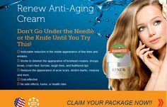 Look Years-Younger Without painful injections! Used Renew Anti Aging Cream  #skincaretips #skincare #wrinkles #reviews2015 #antiwrinklecream