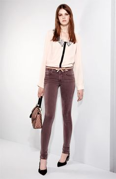Joe's Jeans, Bellatrix Shirt and Another Line Faux Leather Belt   Nordstrom