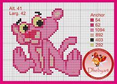 dheby art: Pantera cor de rosa Baby