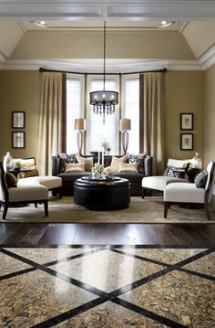 Cambria Bradshaw and Armitage Floor Tiles - transitional - Living Room - Toronto - Cambria