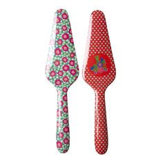 Melamine Cake Server in 2 Assorted Prints - Rice A/S