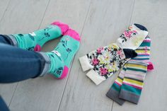 Sock it To Me 3 Pack - Floral