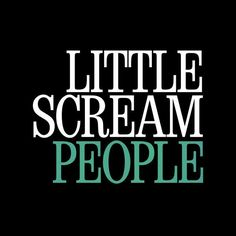 "Listen to ""People"" by Little Scream New Music Releases, Scream, Good News, Songs, People, Song Books, People Illustration, Folk, Music"