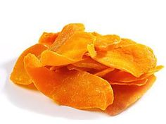 """Dried Cantaloupe Candy: FABULOUS! Remove rind and seeds. Cut into 3""""x1/2"""" slices. Dip one side into mix of 3/4 cup powdered sugar and 1 tsp. powdered ginger and lay on parchment paper lined trays in dehydrator. Dry at 135* 18-24 hours or until no longer tacky to the touch. Should be leathery. Test piece in Ziploc bag. If moisture condenses inside bag after 5 min., dry longer. Store in airtight container in cool dark location to prevent discoloration! Enjoy!"""