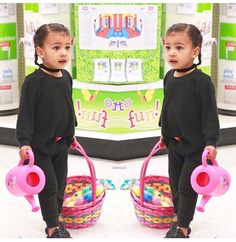 in Toys R Us yesterday, so cute! North West Kardashian, Kim Kardashian, Slim Thick, Toys R Us, Celebrity Babies, Beautiful Children, Kanye West, Kids Outfits, Cute