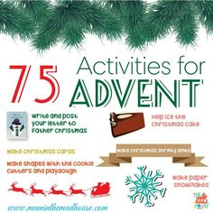 Ultimate advent activities