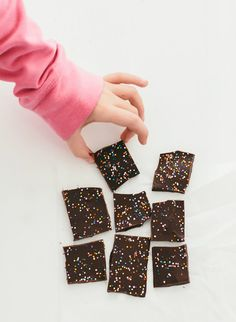 This yummy chocolate bark recipe is the easiest chocolate dessert you'll EVER make.