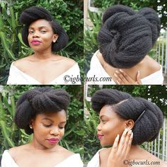 The main aim of my blog is to show natural hair beautiful. It's #classy, #professional (yes, professional), #sexy, #perfect & everything you want it to be.  #vintageinspired #beinspired #naturalhair #blackhair #beautifulhair #igbocurls #blogger #bblogger