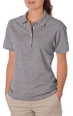 Women's Polo Shirts - Jerzees Ladies Spotshield Jersey Polo Shirt ** You can find out more details at the link of the image. (This is an Amazon affiliate link)