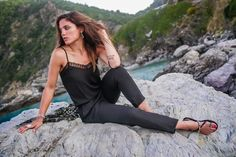 This is a black sic summer for Mary Sinatsaki! Get The Look, Camisole Top, Style Inspiration, Tank Tops, Mary, Friday, Black, Summer, Women