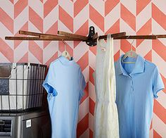 Where's my old drying rack?