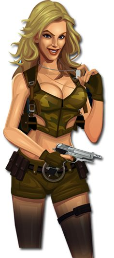 Take an action-packed adventure with a sexy sextet in their latest video slot: Girls with Guns.