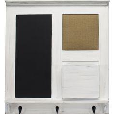 21.5-in W x 23.5-in H Framed Wood Functional Print Wall Art