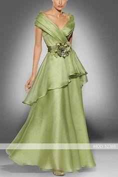 Vestido de madrina largo de Teresa Ripoll modelo 3238b