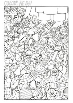 Our Favourite Page From The Colouring Book This Took Lize An Entire DAY To Draw