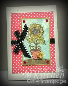 On A Stampage...: Sunflower