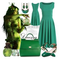 """Green muse"" by ane-twist ❤ liked on Polyvore featuring Champion, La Mer, Avon, Dolce&Gabbana, Spring, outfit and polyvoreeditoria"