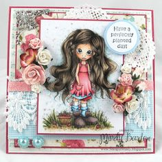 gorgeous card from Mindy Baxter using SC stamp
