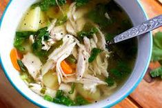 The Best Soup for Flu & Bronchitis
