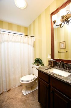 Examples of Small Bathroom Remodels | traditional bathroom by Case Design & Remodeling Indy