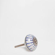Painted Ceramic Knob (Set of 2)