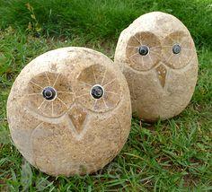River Rock Owl - Large