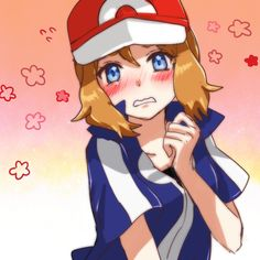 Amourshipping - Serena Crossdressing as Ash