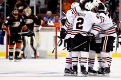 Jonathan Toews ' playoff legend continues to grow as the scored two goals Saturday night, propelling the Chicago Blackhawks to a road win over the Anaheim Ducks in Game 7 of the Western Conference Final . Blackhawks Players, Blackhawks Jerseys, Chicago Blackhawks, Game 7, Western Conference, Anaheim Ducks, Jonathan Toews, 27 Years Old, Home And Away