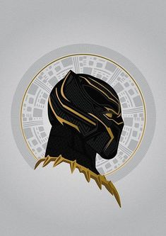Golden Jaguar #blackpanther #marvel wallpaper