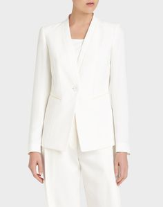 Finesse Crepe Kara Jacket - Essential Suiting - Collection | Lafayette 148 New York