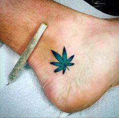 Thanks to munichs freshest tatoo artist! Dope Tattoos, Badass Tattoos, Mini Tattoos, Body Art Tattoos, Small Tattoos, Tatoos, Weed Tattoo, Alien Tattoo, Tattoo Ideas