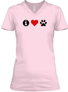 I Love Dogs i heart paws Shirt or Hoodie | Only 24 Hours Left Before These Are Gone!