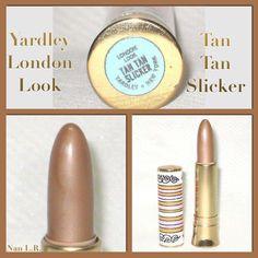 Vintage Yardley London Look Tan Tan Slicker.