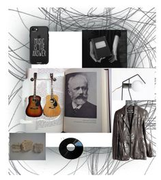 """""""book of composers"""" by ohziedesigns ❤ liked on Polyvore featuring Casetify and vintage"""