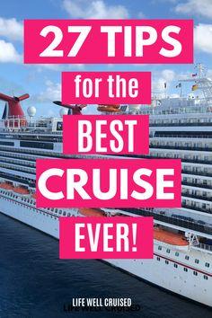 Cruise Packing Tips, Cruise Travel, Cruise Vacation, Cruise Ship Reviews, Best Cruise Ships, Travel Info, Travel Hacks, Travel Tips, Carnival Cruise Ships