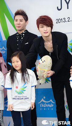 Junsu & Jaejoong - JYJ Appointed as Ambassadors of 2014 Incheon Asian Games