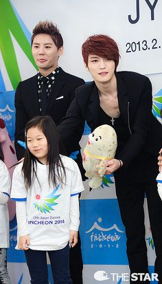 Junsu & Jaejoong - JYJ Appointed as Ambassadors of 2014 Incheon Asian Games