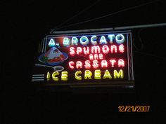 I am ready for a delicious Ice Cream from Angelo Brocato's~