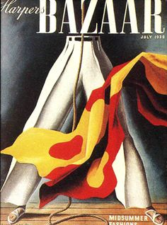 History Graphic Design - Harper's Bazaar cover design by A. Vintage Advertisements, Vintage Ads, Vintage Posters, Cover Design, Alexey Brodovitch, Vintage Vogue Covers, Magazin Covers, Fashion Magazine Cover, Magazine Illustration