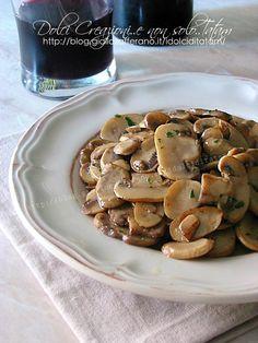 Funghi trifolati in padella | ricetta facile e veloce