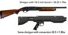 Bullpup Remington 870 Conversion | Rem870.com I like how it shortens it up without loosing barrel length