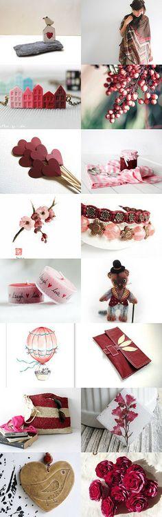 Cherry Blossom Colour Treasury by ByLEXY on Etsy--Pinned with TreasuryPin.com