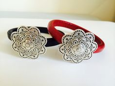 Regaliz Leather with beautiful magnetic clasp bracelet! Bracelet Clasps, Bracelets, Beautiful Earrings, Belt, Leather, Jewellery, Accessories, Belts, Jewels