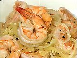 Shrimp Scampi recipe from Emeril Lagasse via Food Network - I use zoodles instead of pasta and it is fantastic! Seafood Dishes, Fish And Seafood, Pasta Dishes, Seafood Recipes, Pasta Recipes, Dinner Recipes, Prawn Recipes, Pasta Meals, Cajun Recipes