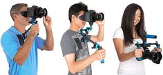 Nano Mounts Turn your DSLRs into a Movie Making Camera Gear, Rigs, Cinematography, Binoculars, Movies, Google, Art, Art Background, Wedges